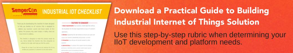 Industrial IoT guide - CTA
